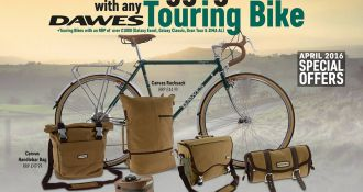 Free Luggage With Any Dawes Touring Bike