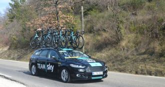 ​Team Sky dominance in the Tour de France